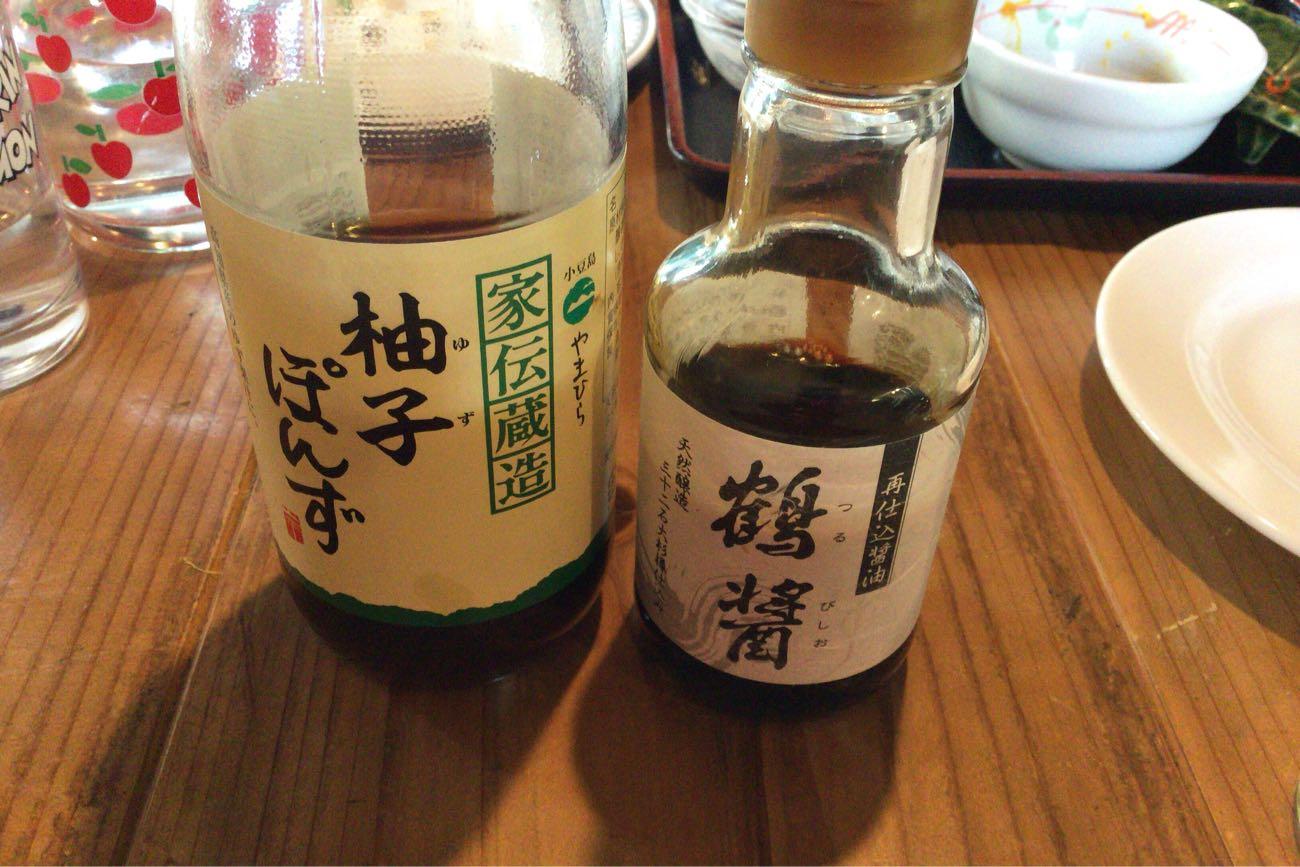 小豆島のお醤油屋さんの醤油