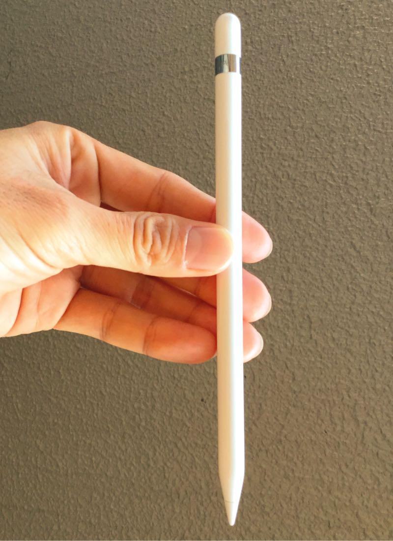 Apple Pencilの大きさはこれぐらい
