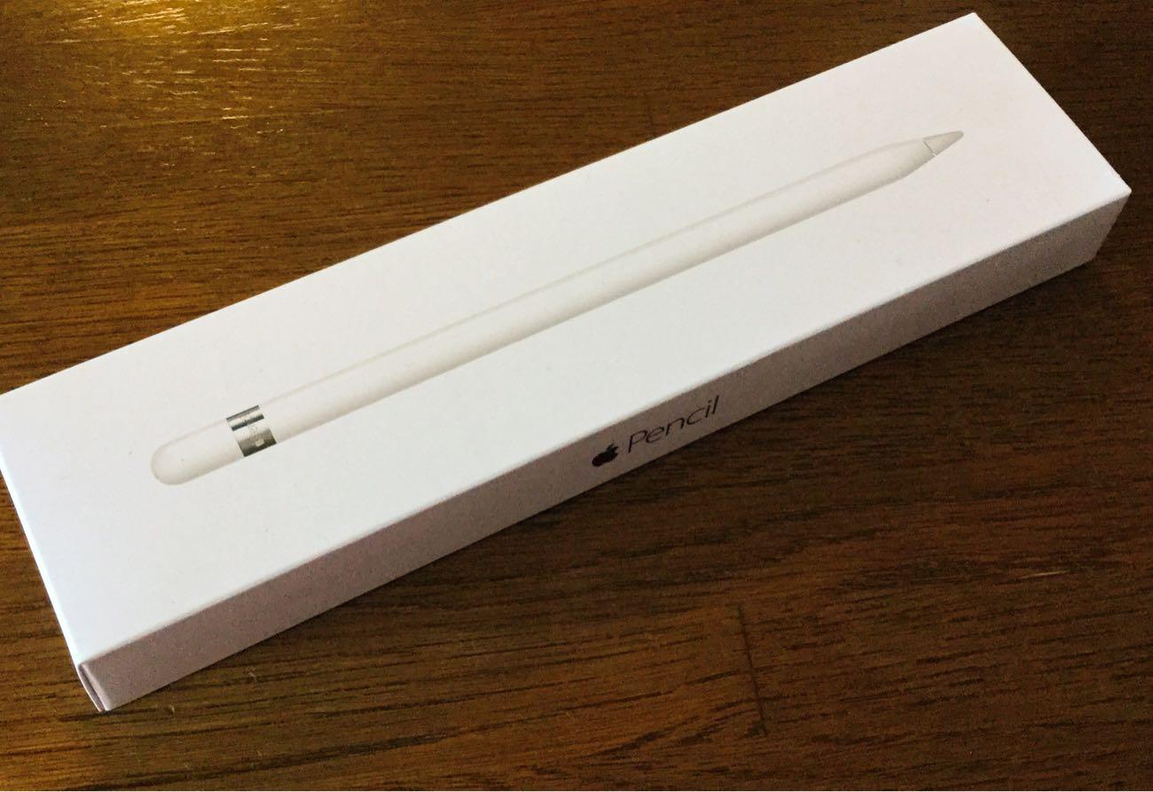 センスの良すぎるApple Pencilの箱