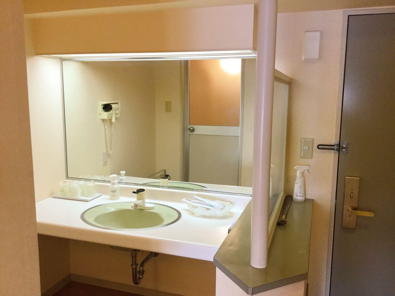 お部屋にある洗面所