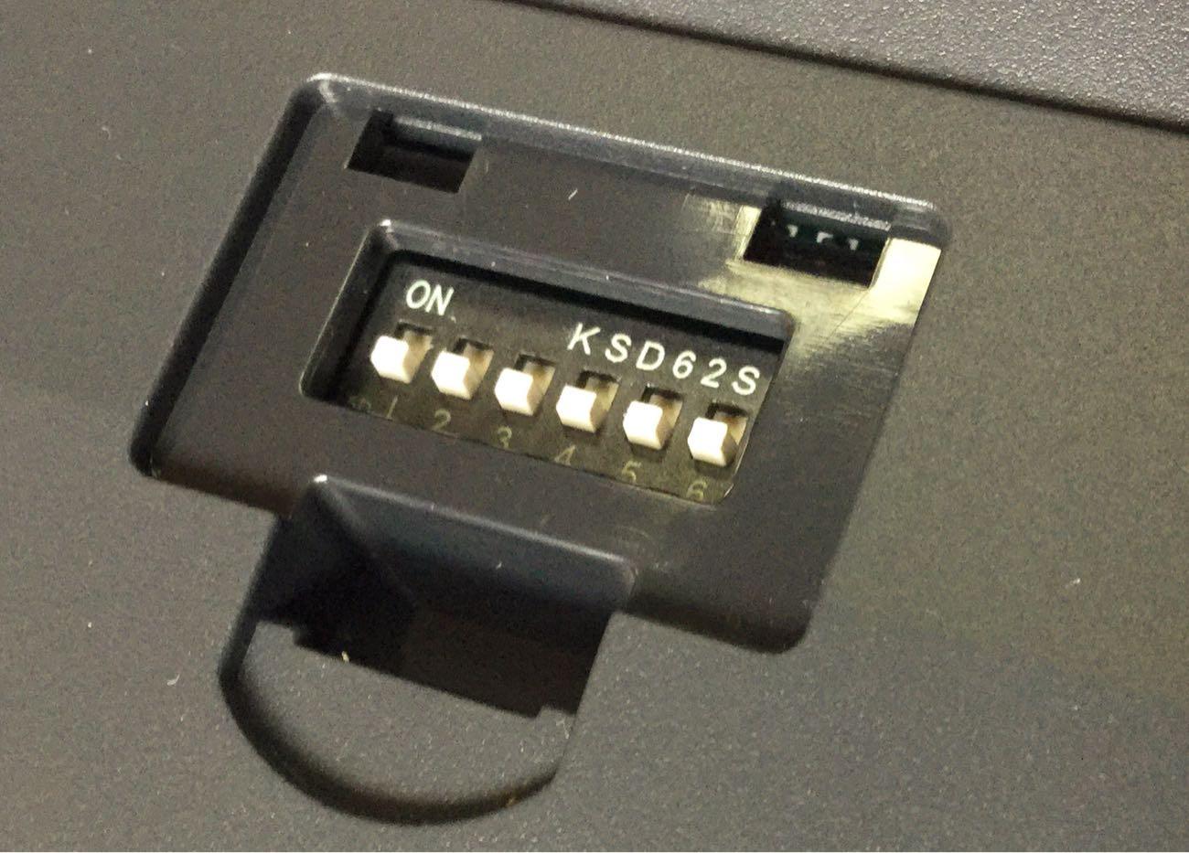 このスイッチでキーの割り当てをカスタマイズできます