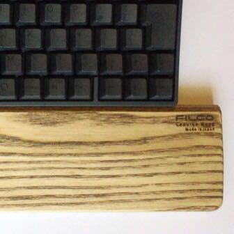 パームレストは木製がオススメ! FILCOのウッドパームレストの心地よさよ…