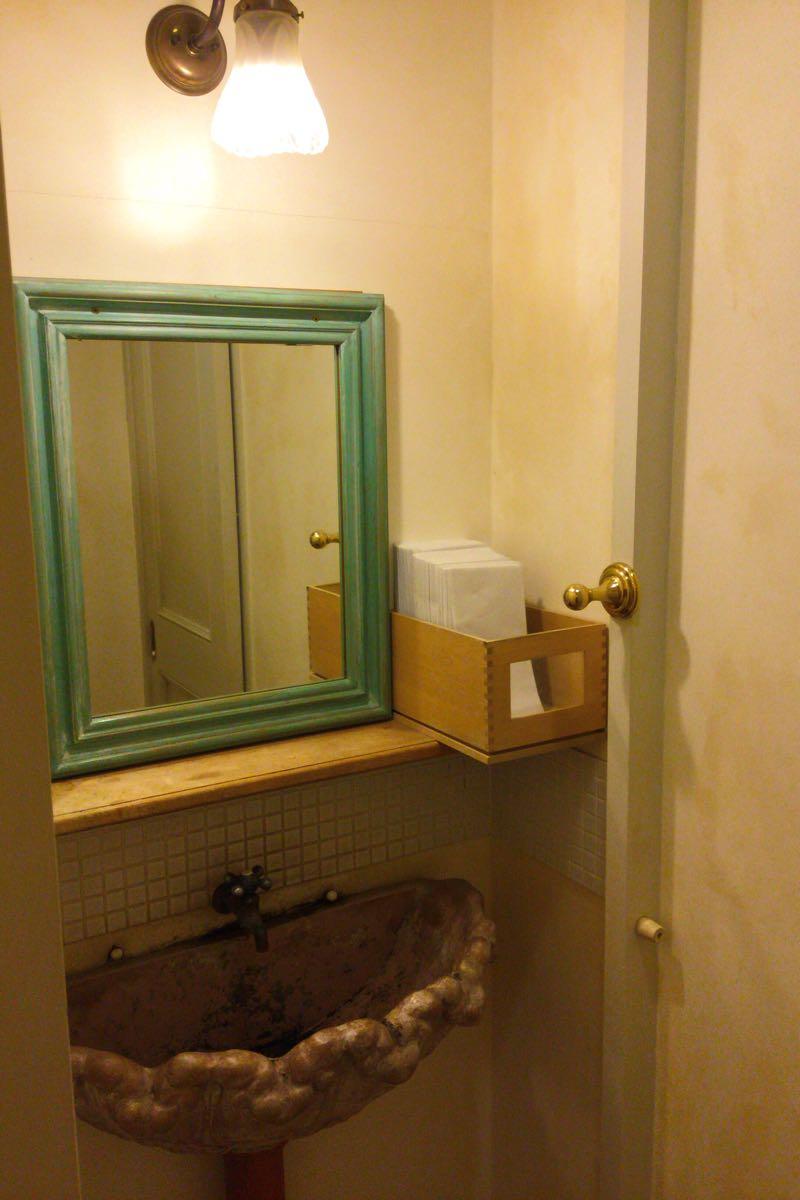 キャラメル・ママのトイレにある洗面台
