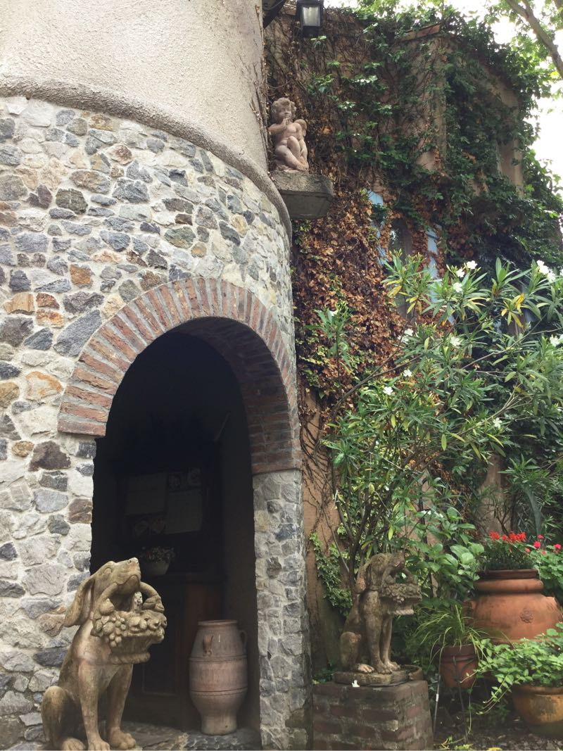 キャラメル・ママのある建物の入り口