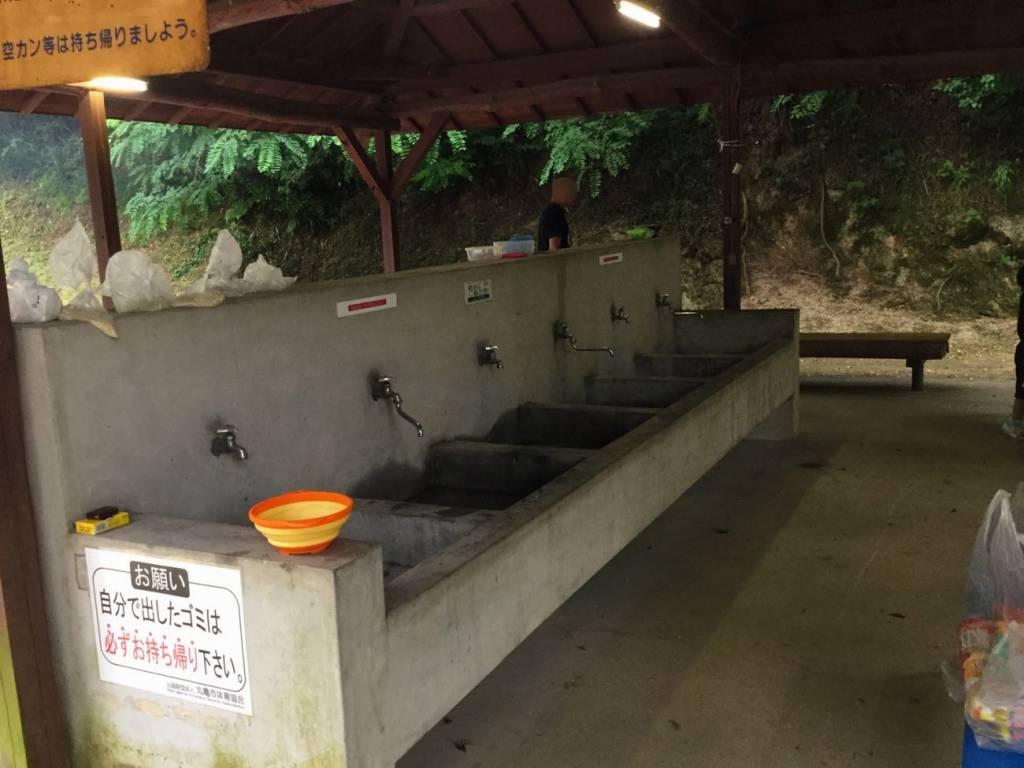 炊事場の水道