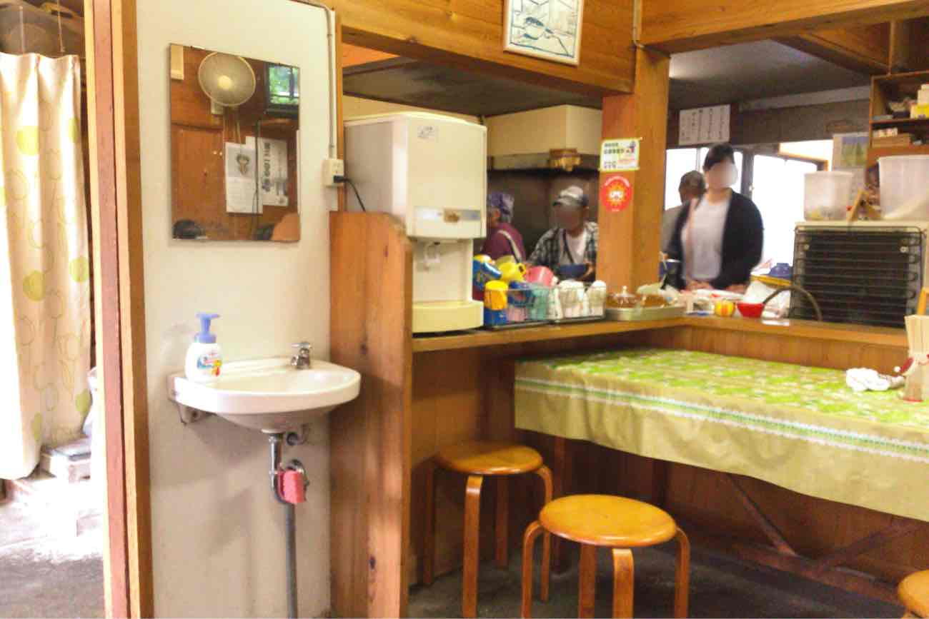 宮川製麺所の内装