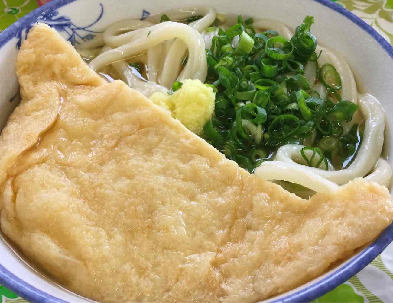 宮川製麺所のかけうどん
