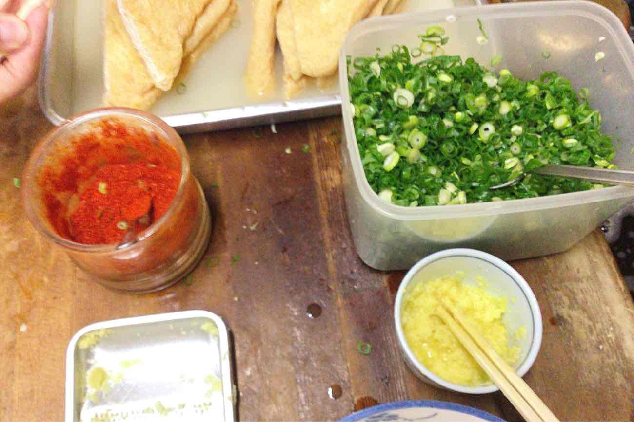 宮川製麺所のトッピング
