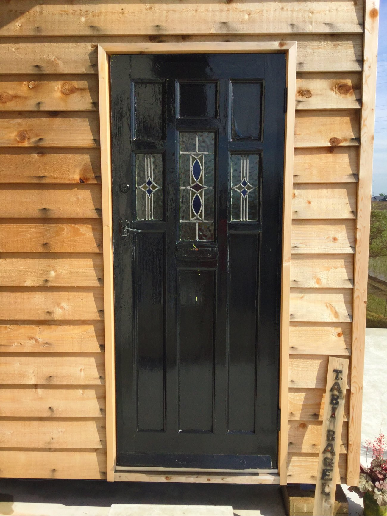 旅ベーグルのドア