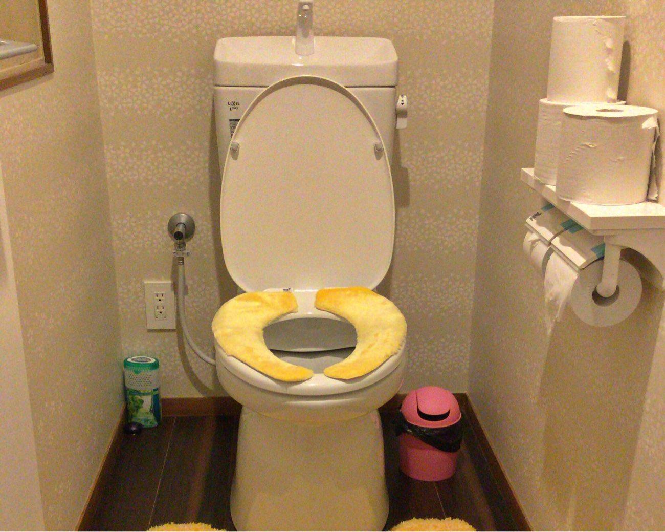 トイレ内もキレイです