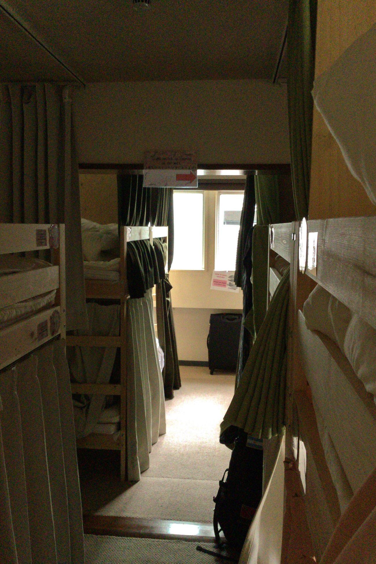 わたしが泊まったお部屋には18人まで宿泊できます