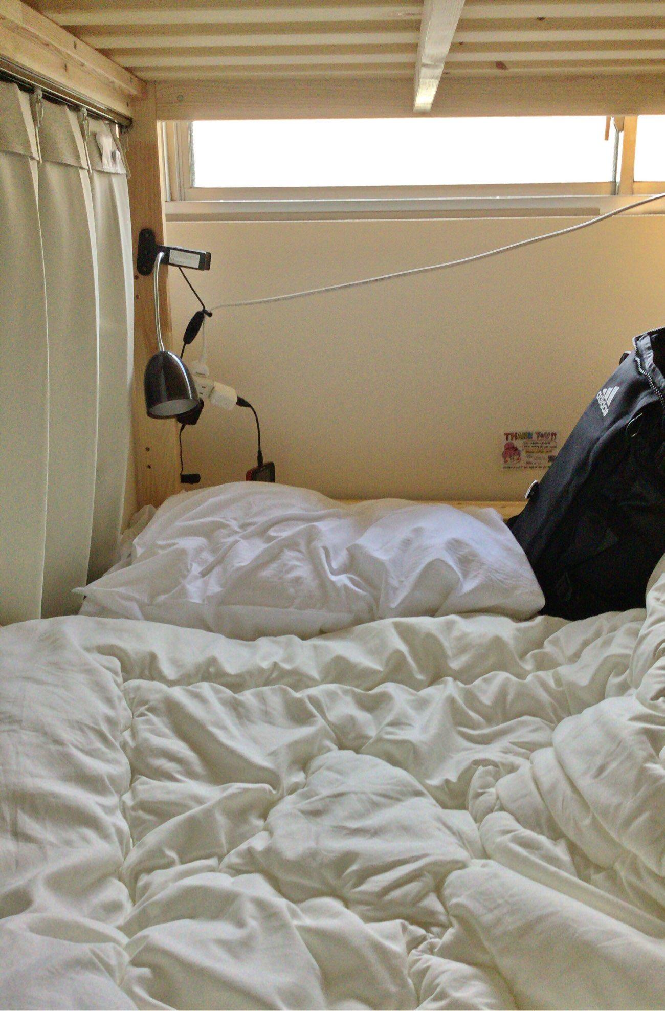 このベッドを使いました