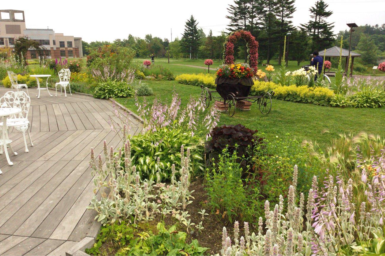 庭園が美しい