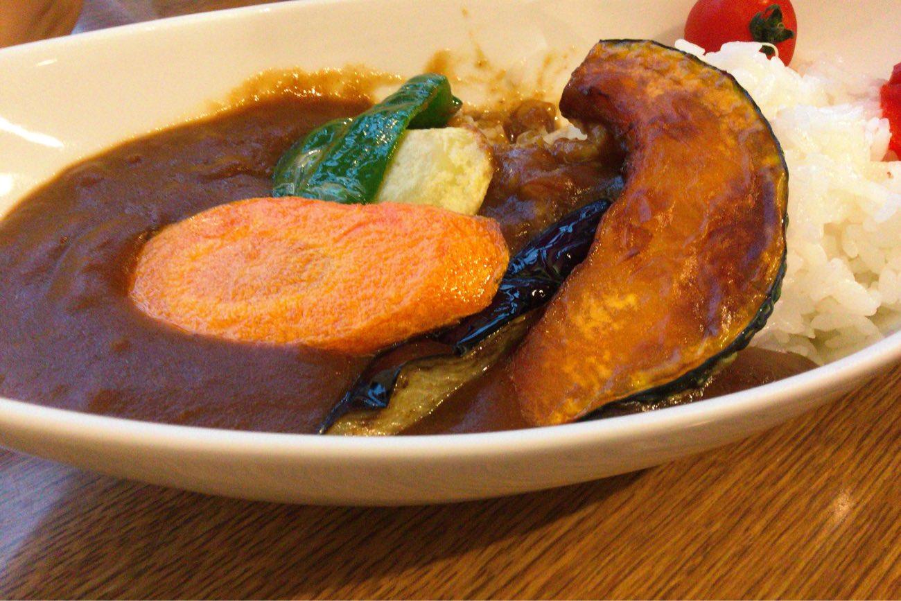 野菜カレー680円