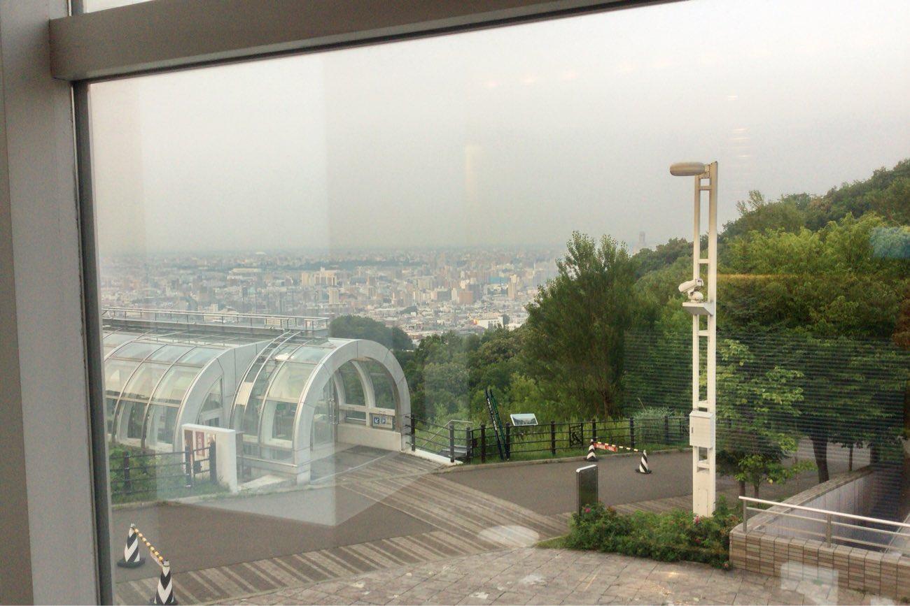 札幌の街並みが見渡せます