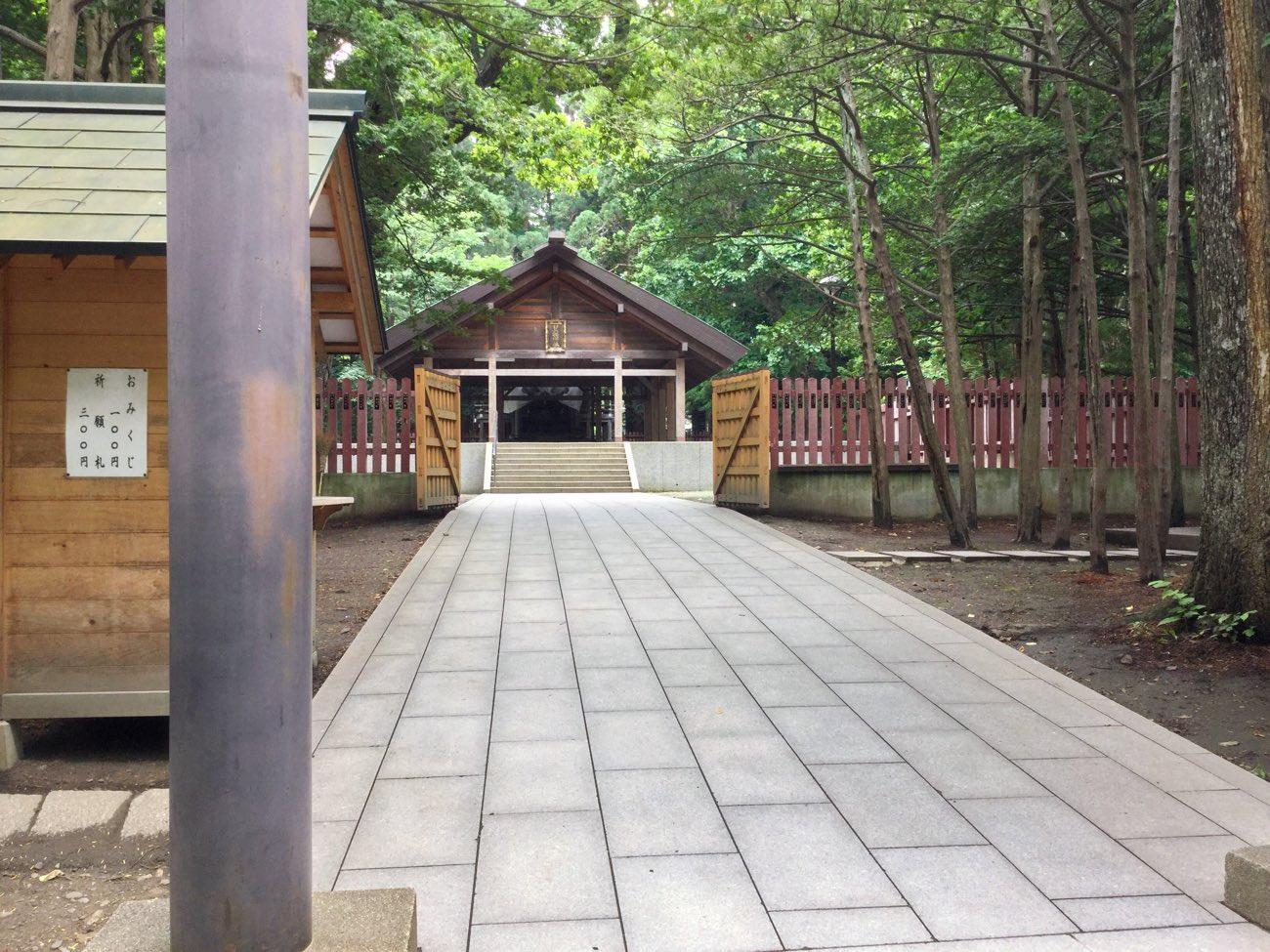 北海道神宮の境内に入りました