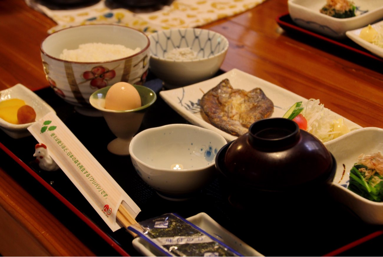 はたやま憩の家の朝食