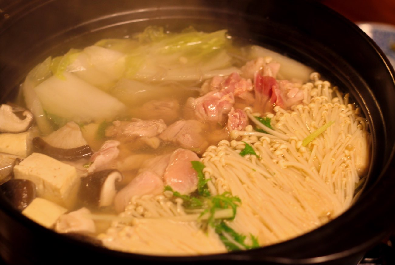 土佐ジローの鍋