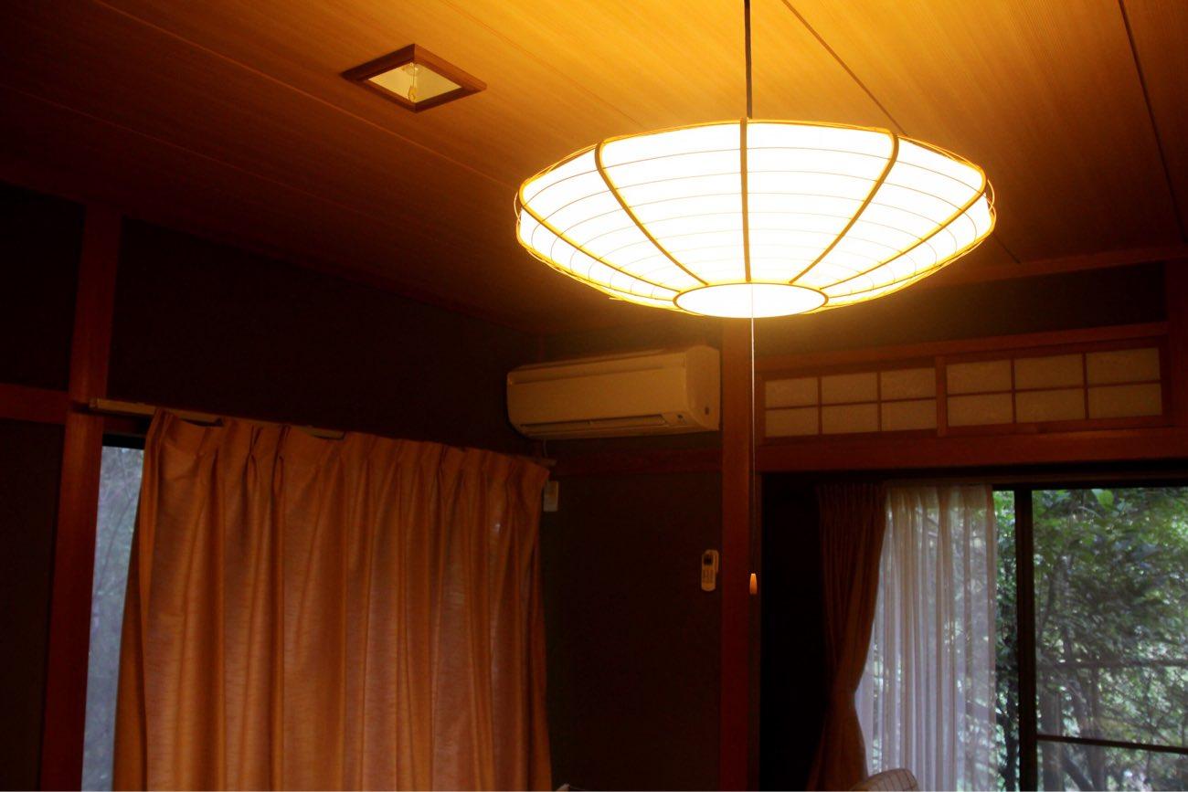 お部屋のライト