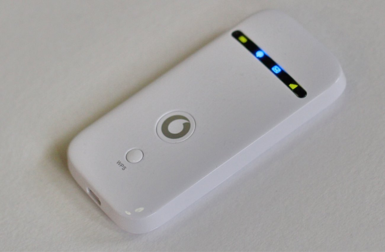 VodafoneのポケットWi-Fi