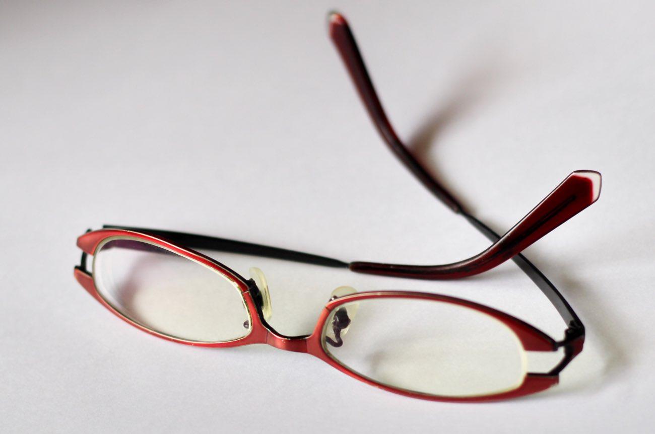 今までわたしがかけていたメガネ