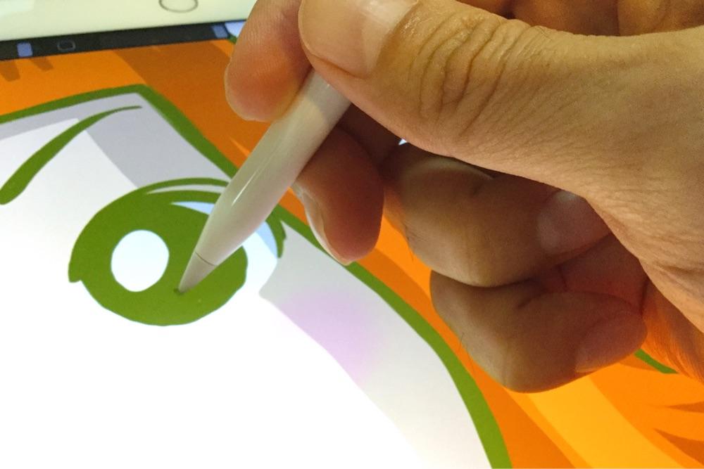 スタイラスペンがあればラクに描ける