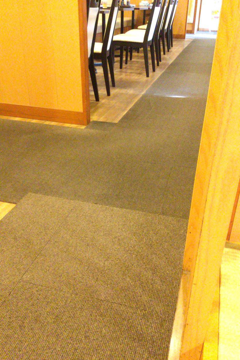 床もじゅうたん