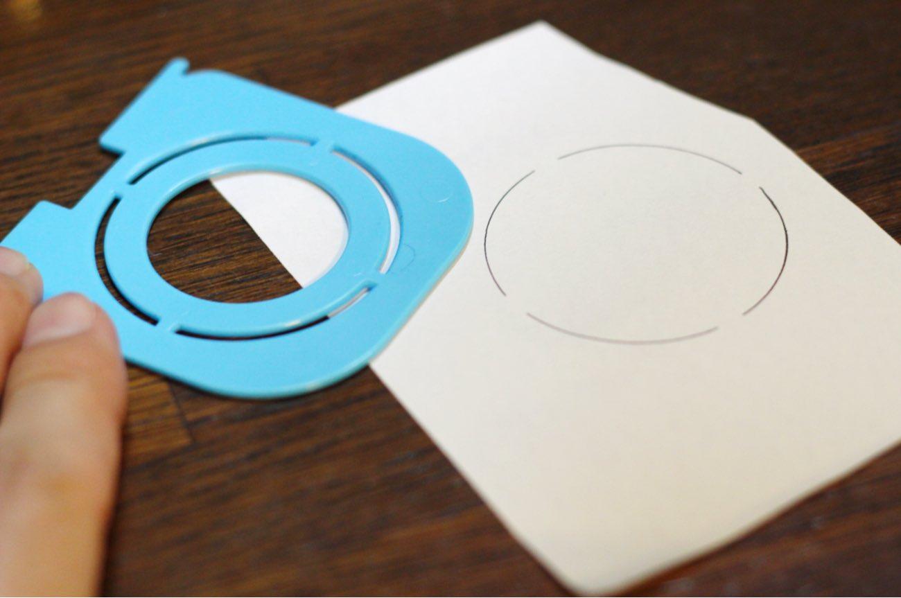 テンプレートで円を描く