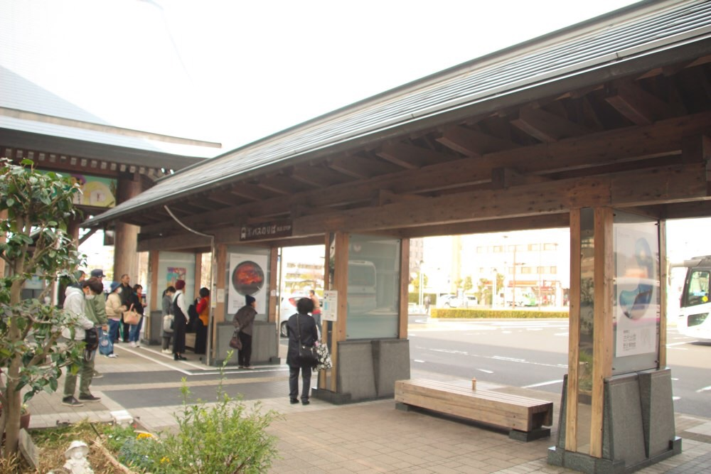 JR出雲市駅のバス停