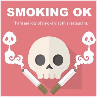タバコの煙で嫌な思いをしたら食べログなどで投稿しようぜ!