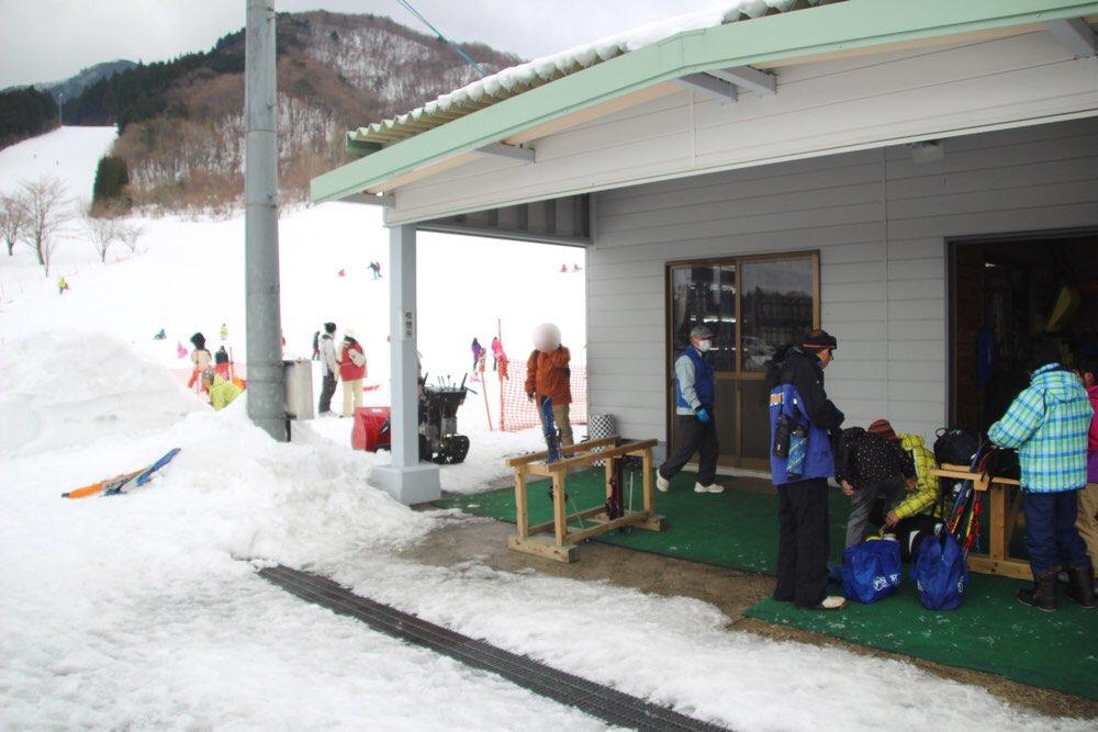 スキーの練習場