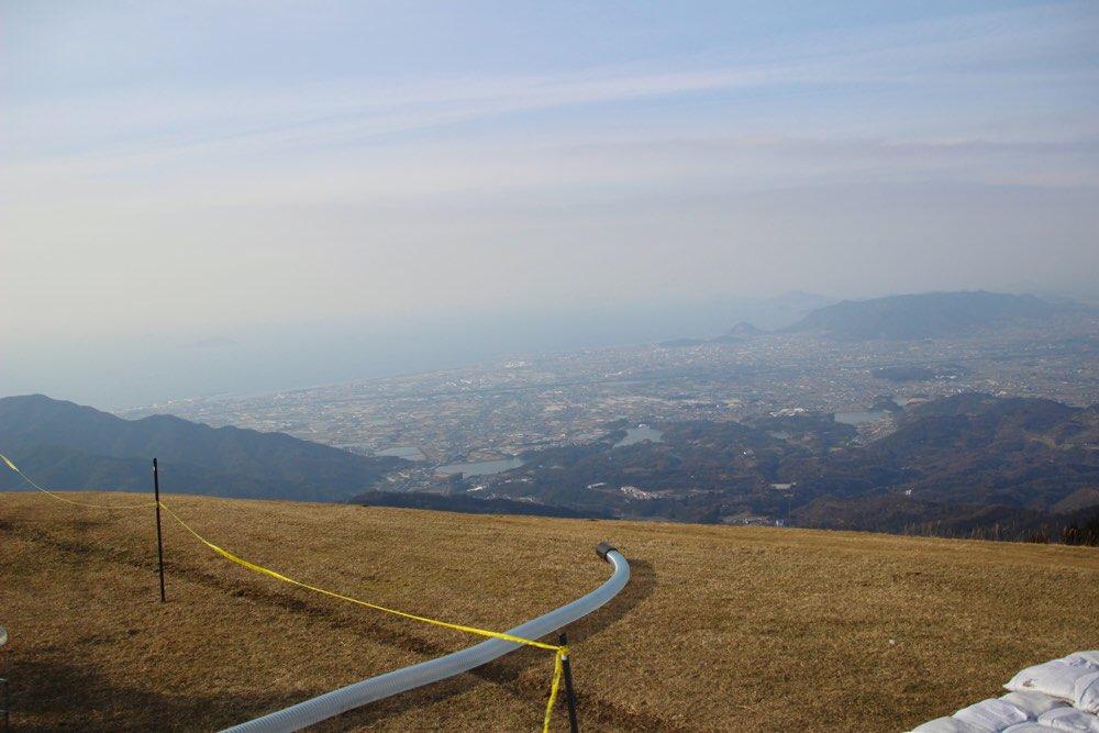 ここは讃岐山脈のてっぺん