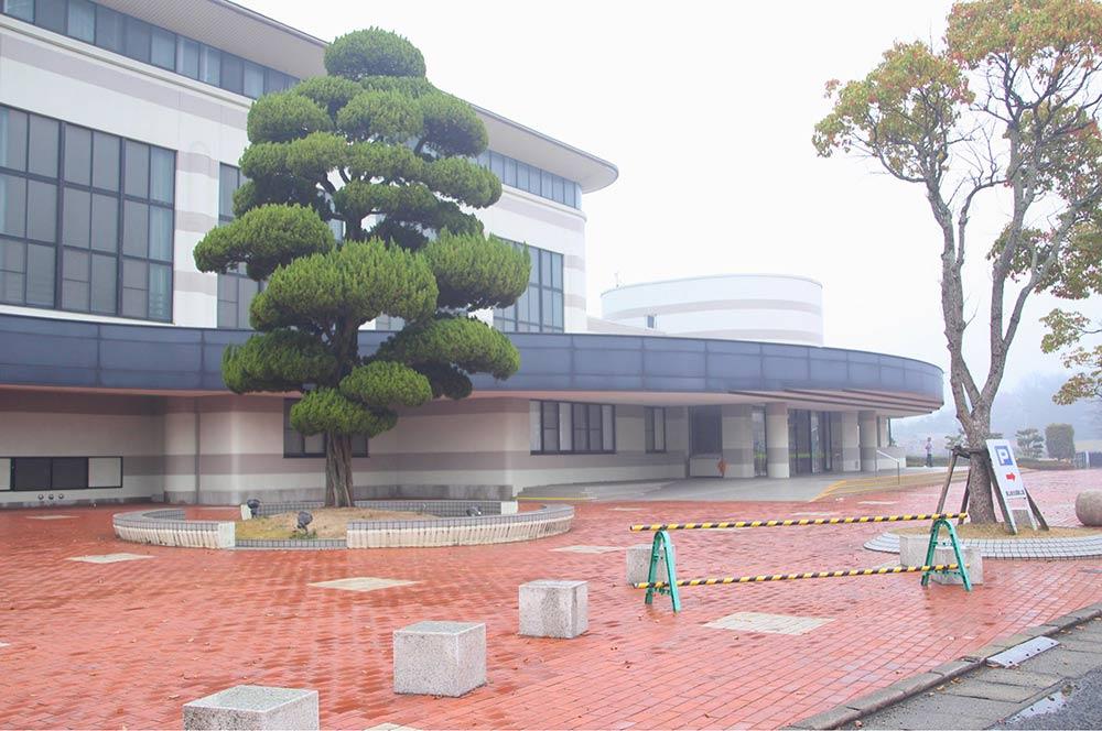 飯山総合運動公園の体育館