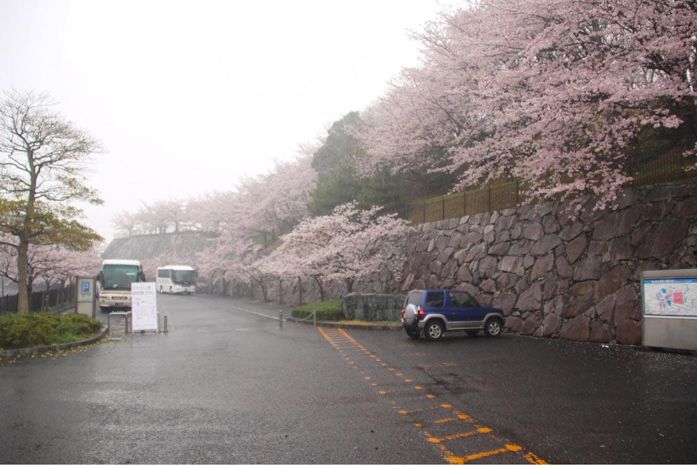 飯山総合運動公園の入り口