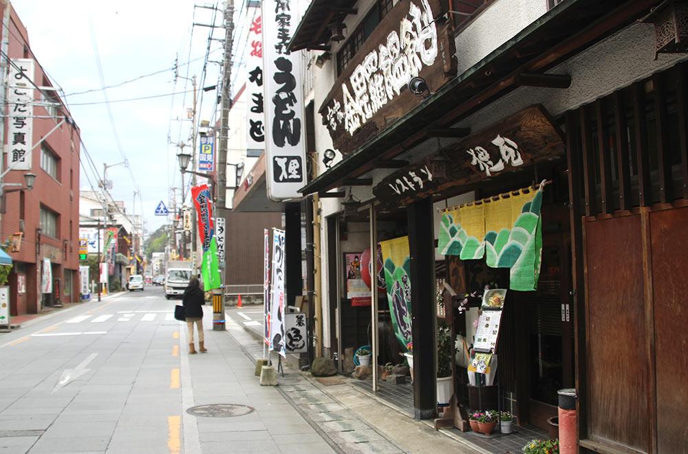 香川で有名な「名物かまど」もある