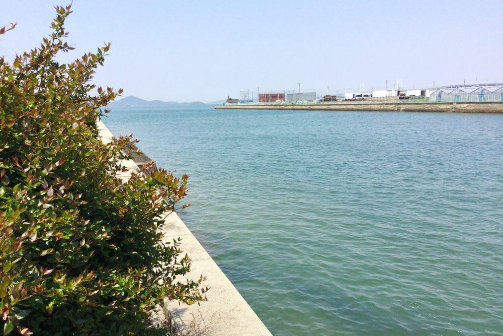 宇多津の海