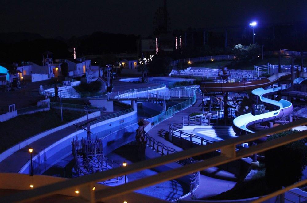 レオマのプール