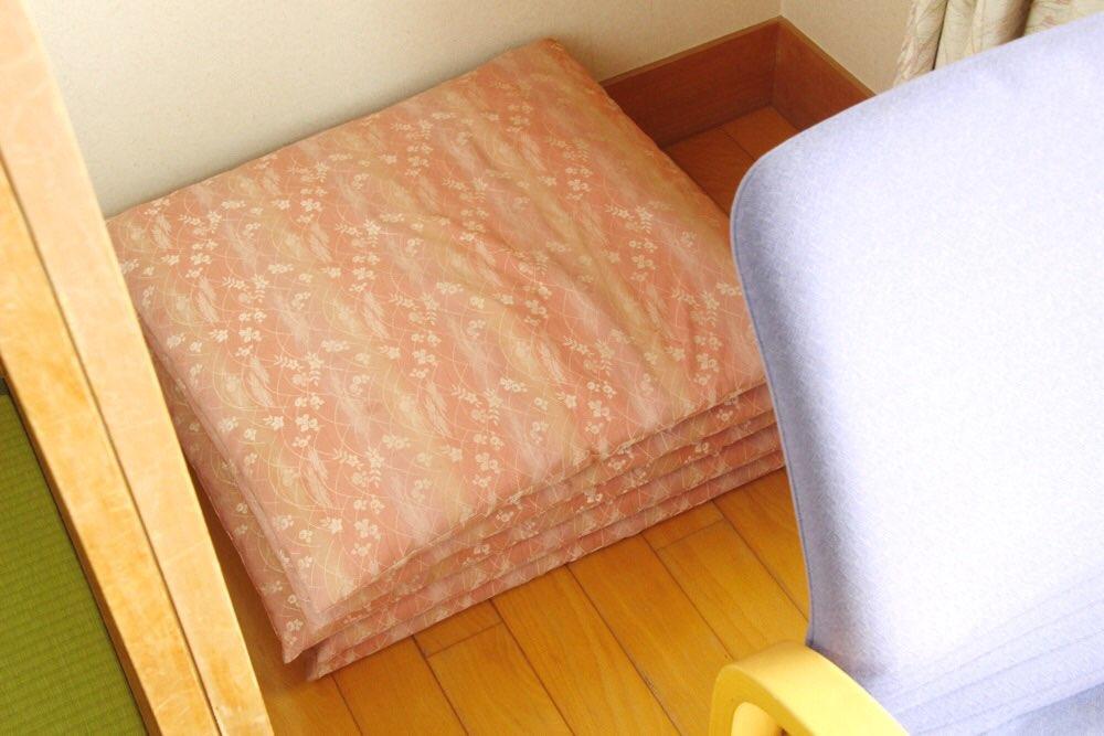 座布団も椅子の後に発見