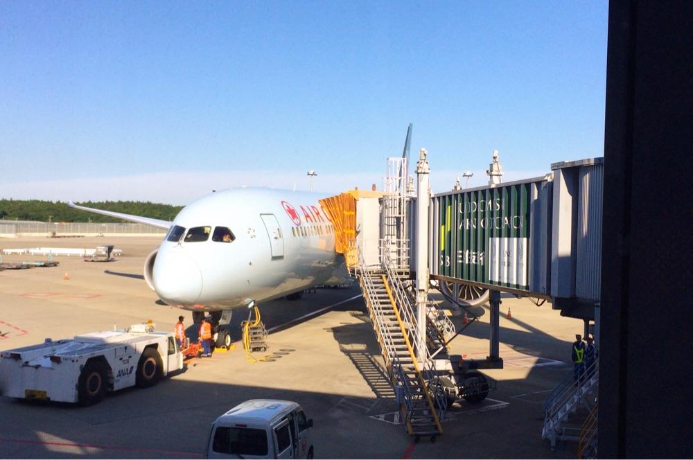 エア・カナダの飛行機