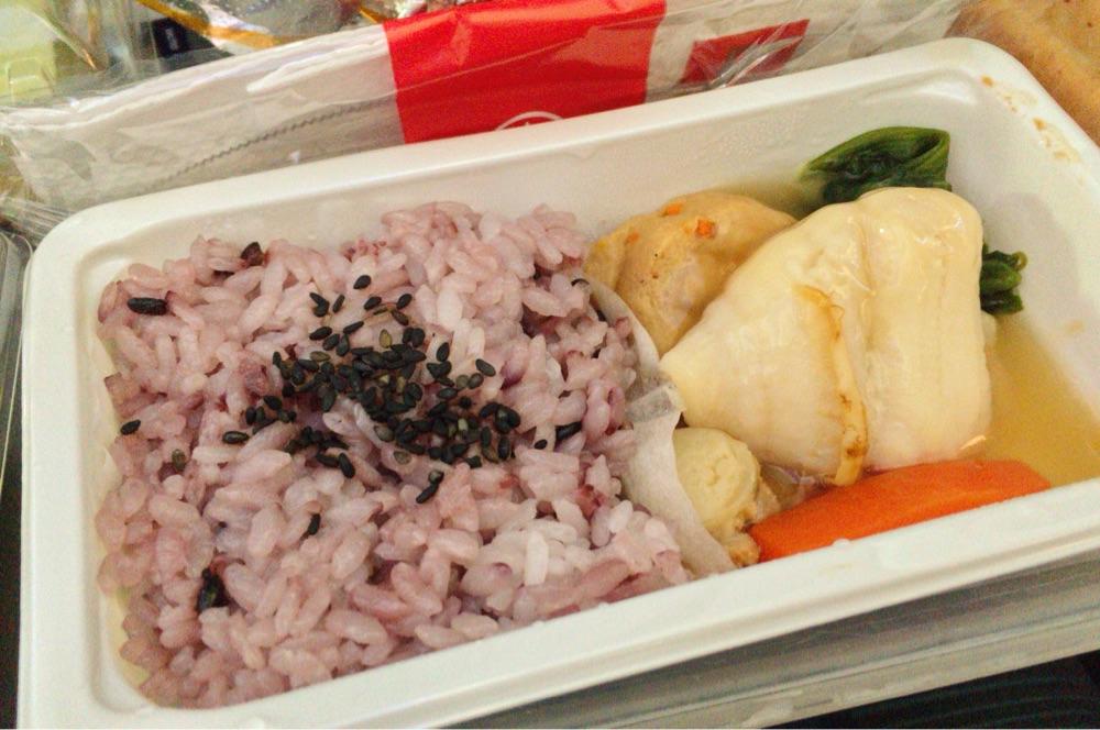 「フィッシュ」の機内食