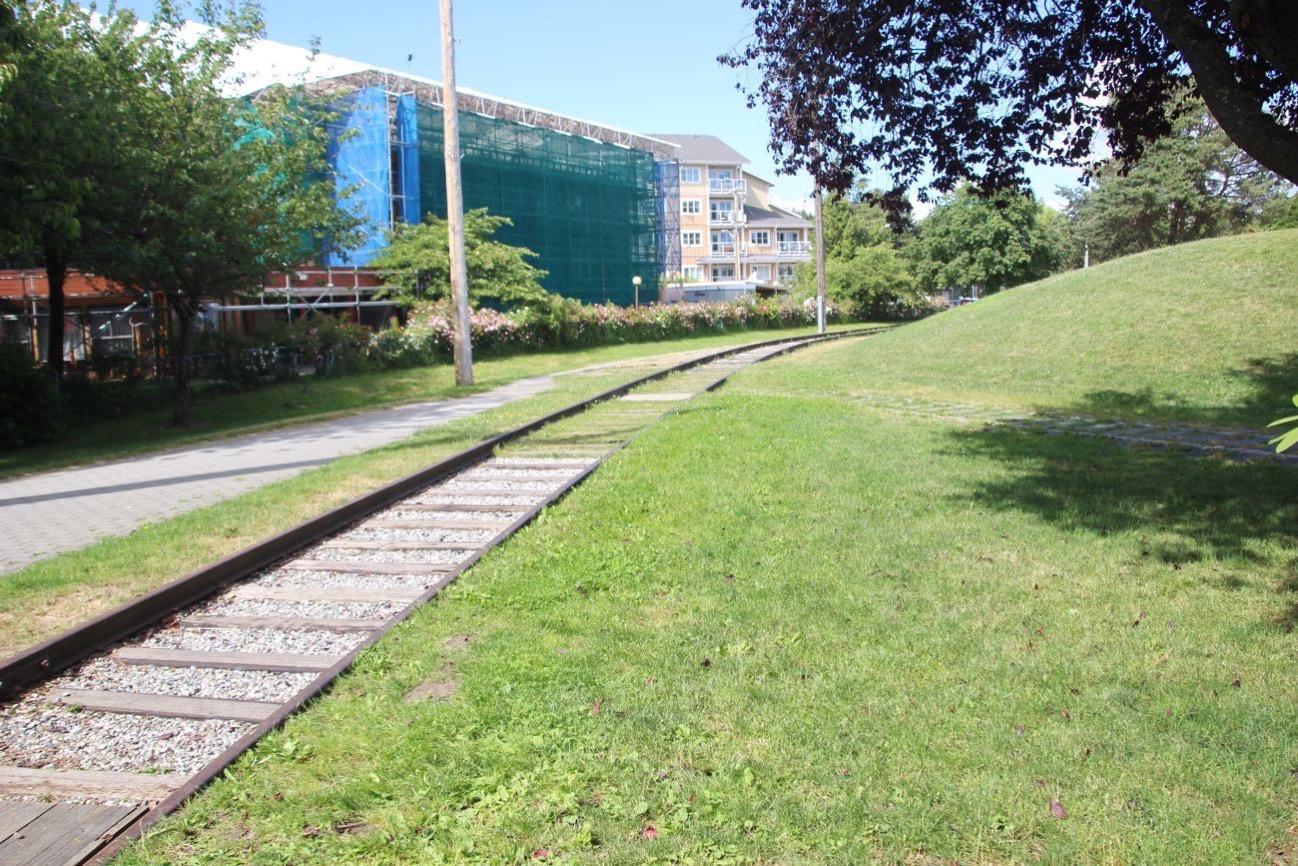 スティーブストン公園の線路