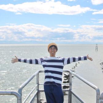 [カナダ] Iona Beach Regional Park(アイオナ・ビーチ・リージョナル・パーク)のパイプ上を散歩してきた!