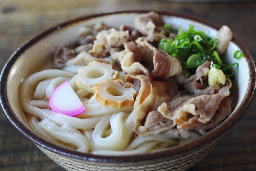カマ喜riの「肉うどん」