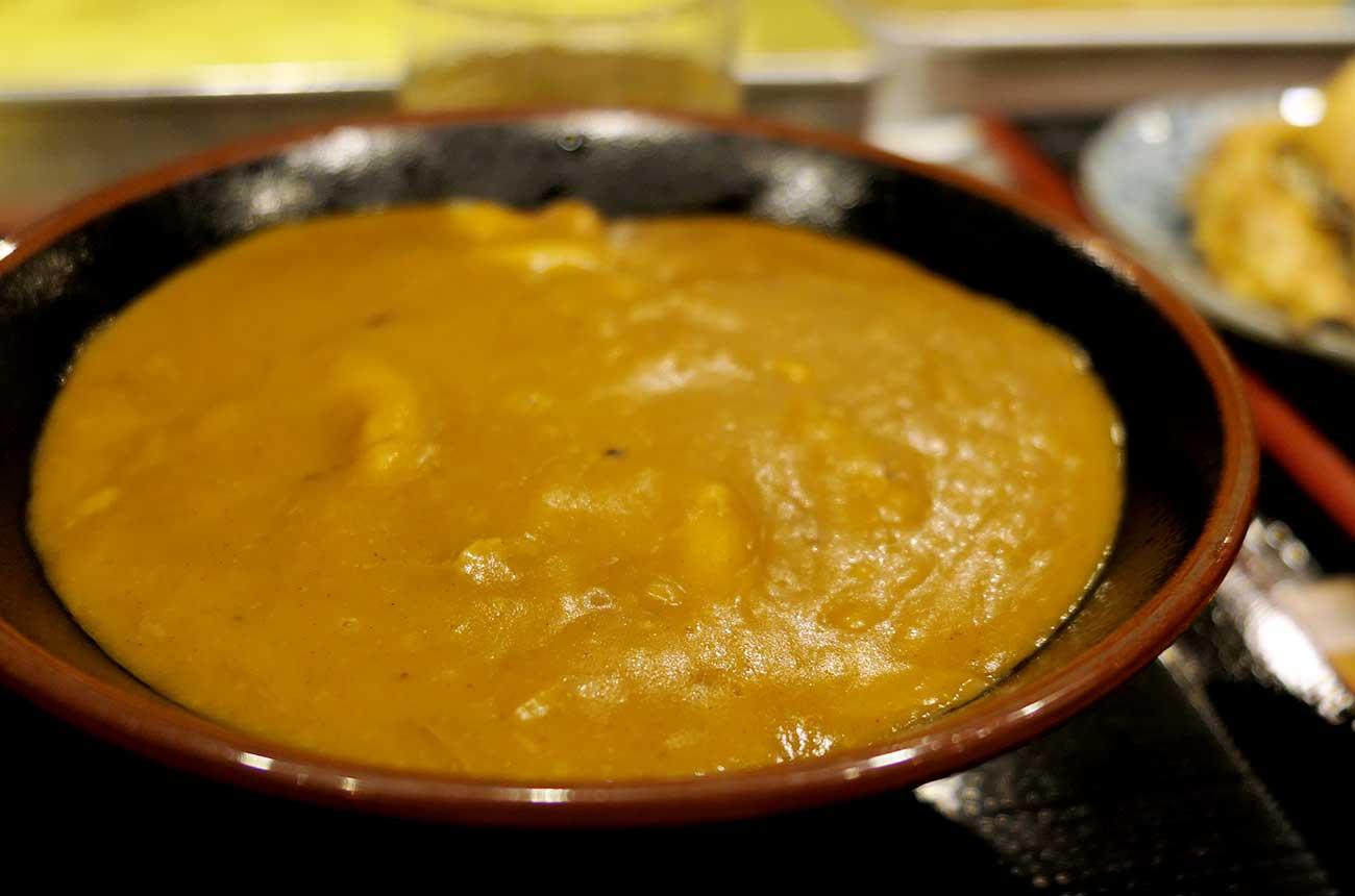 讃州製麺のカレーうどん
