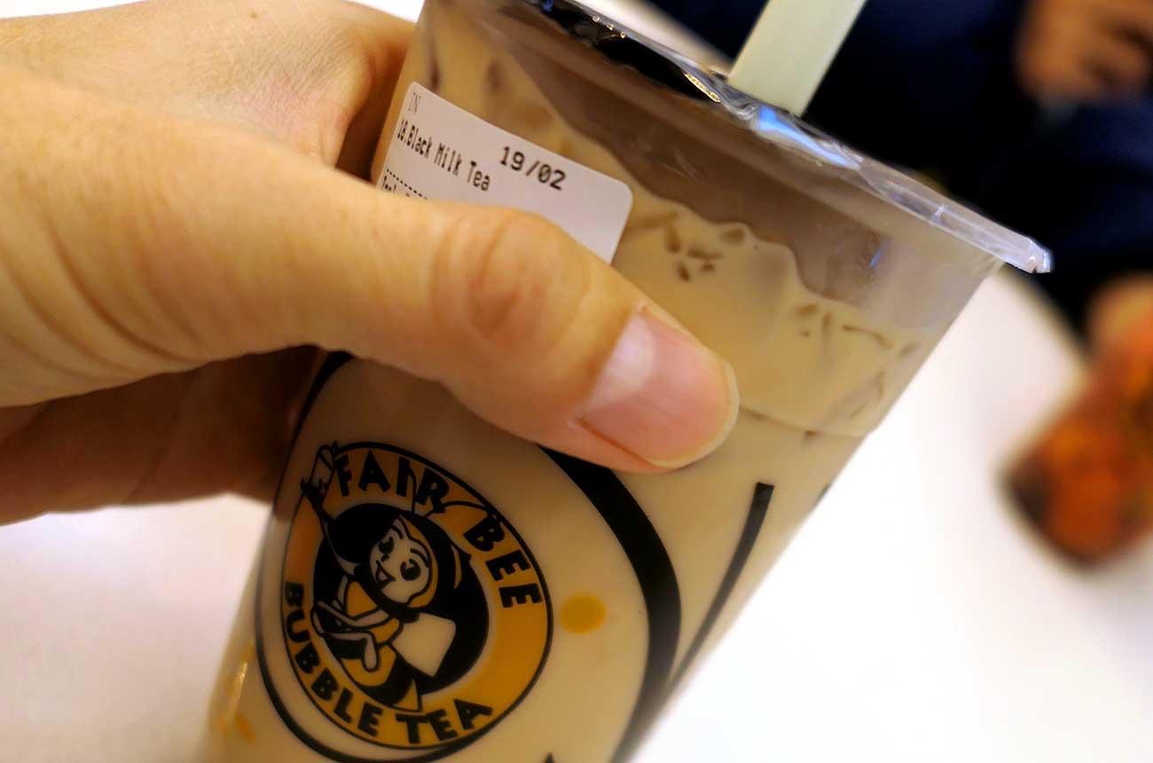 Umiのタピオカティー(紅茶ミルク)