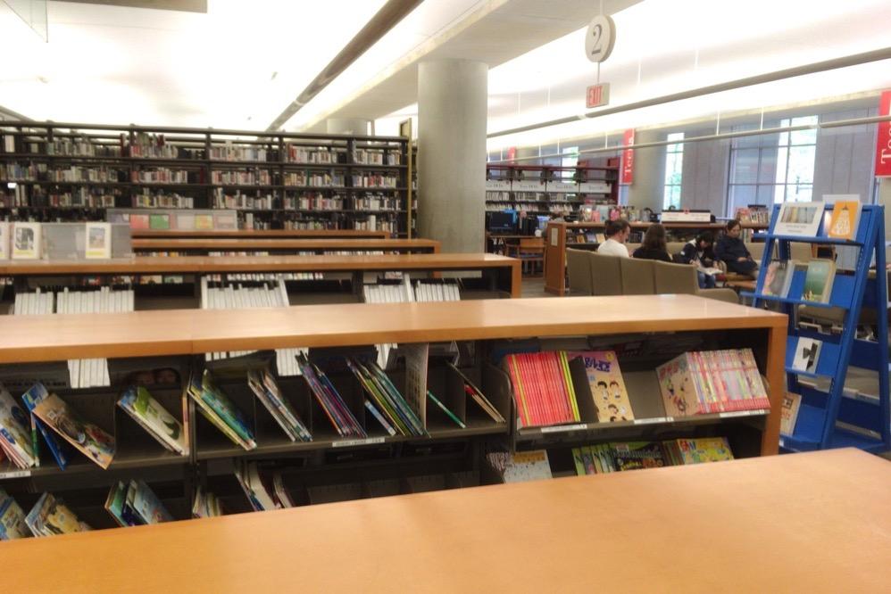 図書館の様子