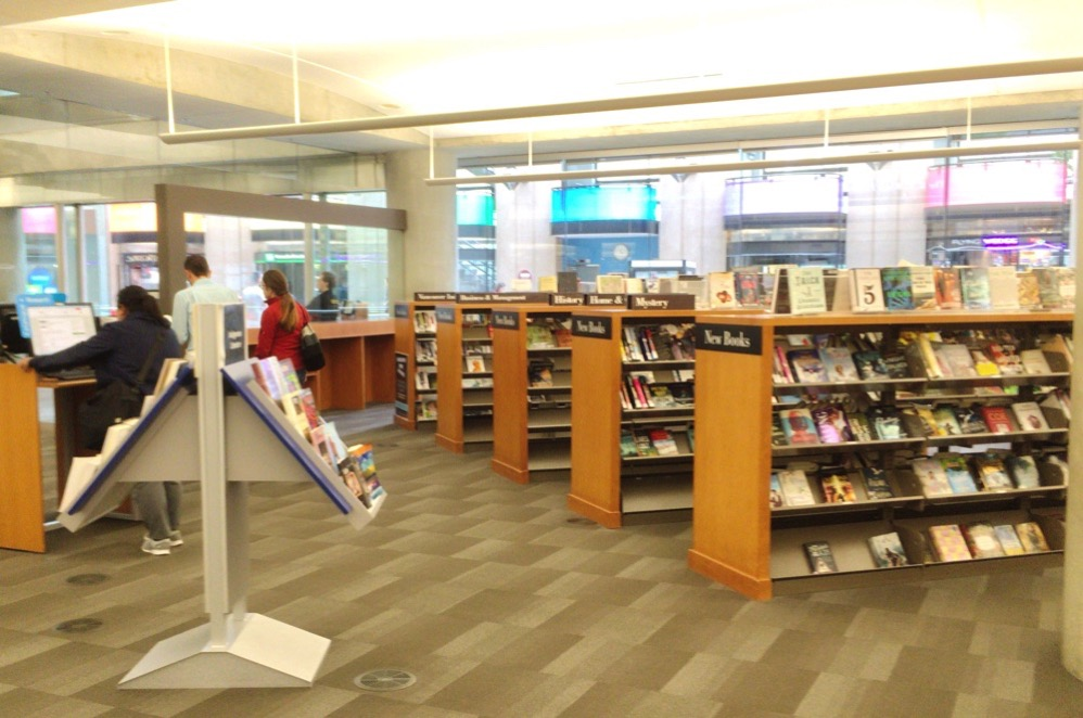 図書館の内部の様子
