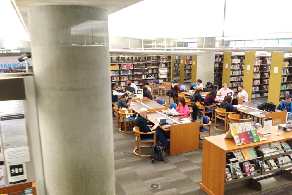 学習スペースはいろんなところにあります