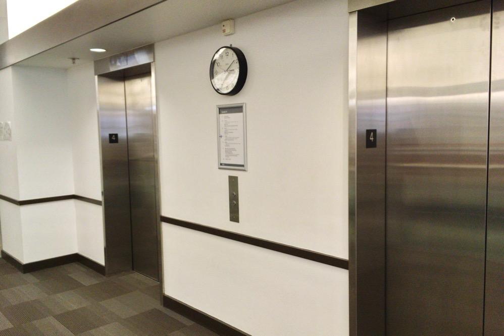 エレベーターもある