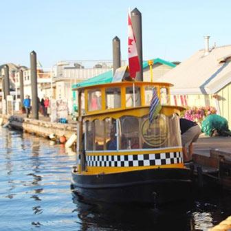 [カナダ]ビクトリアの水上タクシーは観光 & 移動手段として最高です!